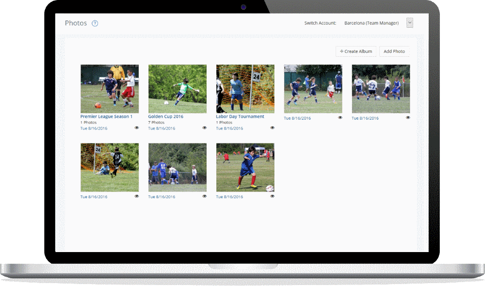 Features for Sports Teams - Team Photos
